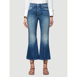 Frame Le Crop Flare Rigid Re-release Jeans